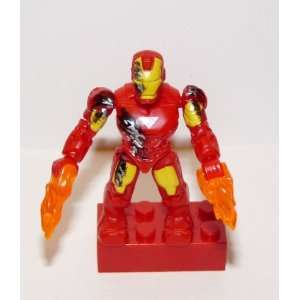 Marvel Micro Action Figures Series 1 Battle Damaged Iron Man #91248