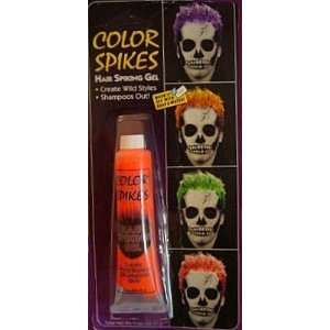 Hair Spike Red Spiking Gel for Punk Rock Spikes Halloween