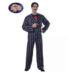 STD Adult The Addams Family Gomez Costume Size Standard: Toys & Games