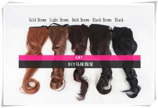 women long wavy brown party hair wig b04 specification the size