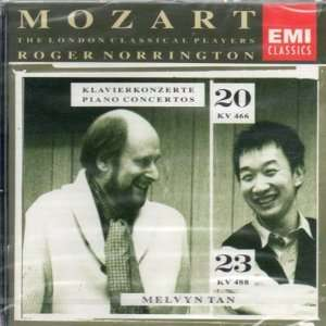 Mozart, Roger Norrington, London Classical Players, Melvyn Tan Music