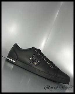 Sneaker DOLCE & GABBANA Black Leather Limited New Winter 2011