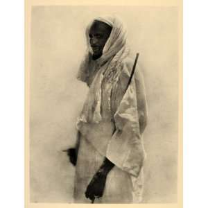 1930 Africa Aulad Hamid Arab Man Costume Portrait Sudan