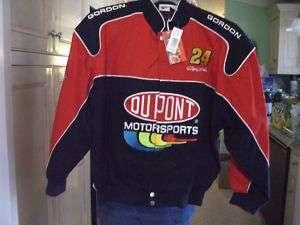 Jeff Gordon nascar jacket Large Winner Circle with tag