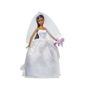 The Bride Barbie (African American) Toys & Games