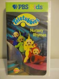 VHS tapes kids videos movies PBS Tinky winky LaLa Poe Dipsy