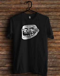 new troll face meme 4chan internet trollface t shirt