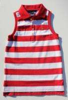 NWT New Ralph Lauren Girls Resort Sleeveless Shirt sz 6