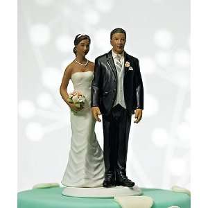 American Wedding Cake Topper   Funny Love Pinch Topper: Home & Kitchen
