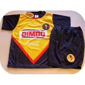 KIDS SETS JERSEY & SHORT SIZES 4.NEW. LAS AGUILAS Sports & Outdoors