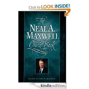 Neal A. Maxwell Quote Book: Cory H. Maxwell:  Kindle Store