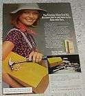 1974 Cheryl Tiegs, Tennis, Virginia Slims Cigarette Ad