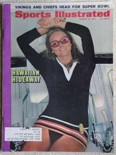 Sports Illustrated Swimsuit Cheryl Tiegs Jan 12, 1970