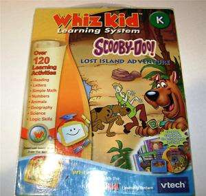 NEW WHIZ KID VTECH WHIZWARE SCOOBY DOO FREE SHIP