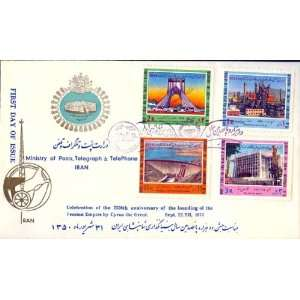 First Day Cover Commemorating 2500th Anniversary of the Persian Empire