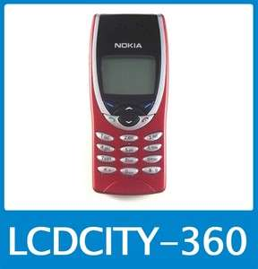 US Mint Unlocked Nokia 8210 Mobile Cell Phone Red GRADE A 129878658288