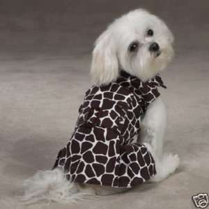 Wild Side Giraffe Print Dog Dress TEACUP