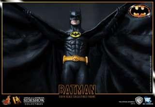 BATMAN DX SERIES 1/6 FIGURE SIDESHOW MICHAEL KEATON TIM BURTON