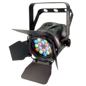 New Chauvet Colordash Par Dmx 512 Multi Colored Led Wash Light Effect