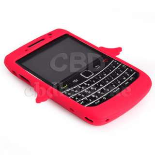 Soft Silicone Rubber Case Cover Fr Blackberry Bold 9780
