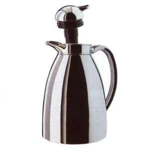 Alfi Albergo Carafe Chrome Plated Metal with Tea Filter 1L