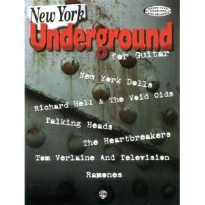 New York Underground for Guitar (9781576239261) Alfred