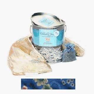 Body Wrap Hot Cold Aromatherapy  Blue Silk Brocade Health