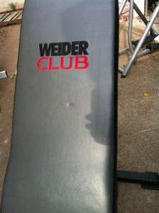 Weider Club C 650 Olympic Width Bench   Retail $199.99