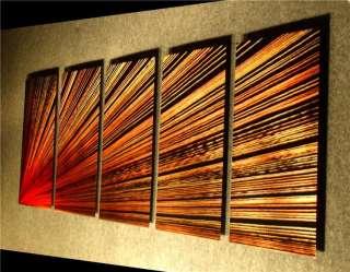 ABSTRACT METAL Art Wall SCULPTURE Painting Modern Nider