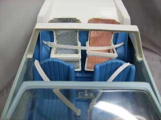 Barbie Vintage Heart Family Blue Car & Infant Baby Seats 1981