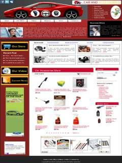 Established Car Accessories  Website for sale