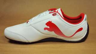 PUMA Drift Cat 4 SF White Rosso Fashion Sneackers Ferrari Shoes Mens