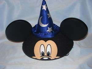 WDW MICKEY MOUSE CLASSIC EARS SORCERER HAT