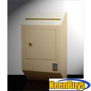 PROTEX Drop Box Safe Wall Mount Tubular Key WDB 110