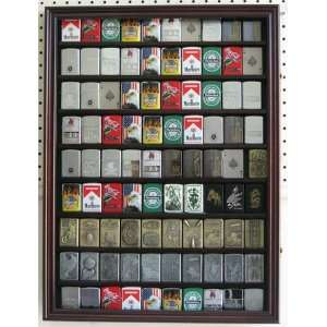 ZIPPO Lighter Display Case Cabinet for Military, Sport, Music lighters