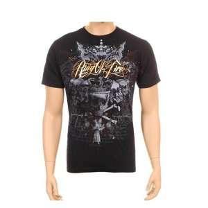 Gothic Design Skull Cross Tattoo T Shirt Tee