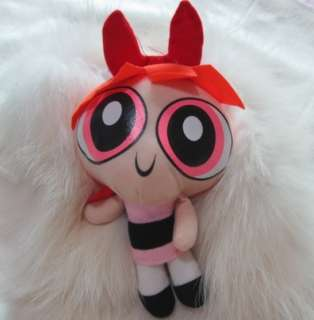 New Cool 1999 Cartoon Network The Powerpuff Girls Plush Toy Soft 9