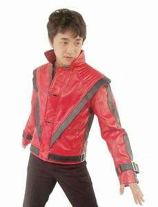 MICHAEL JACKSON Thriller JACKET Replica,RED