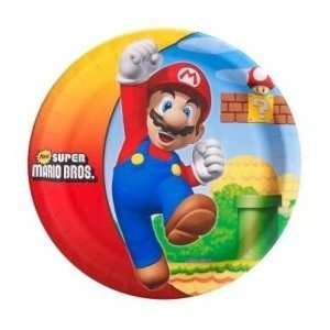 Mario Bros. Party Supplies for 8 Guests [Toy] [Toy]