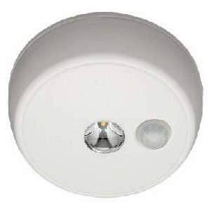 WHITE LED MOTION SENSOR BATTERY POWERED CEILING LIGHT