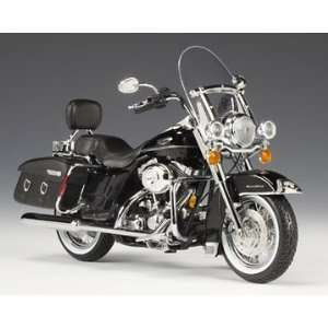 12 Scale 2007 Harley Davidson FLHRC Road King Classic Vivid Black