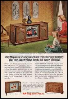 1967 vintage ad for Magnavox TV  193