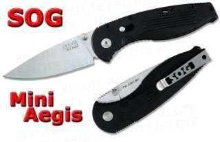 Mini Aegis Assisted Open Folding Knife Plain Edge AE 21 **NEW**