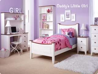 DADDYS LITTLE GIRL Girls Kids Bedroom VInyl Wall Art