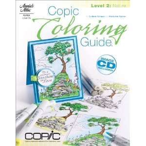 Copic Coloring Guide Level 2 Nature (9781596354098