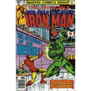 Iron Man #135 Comic Book