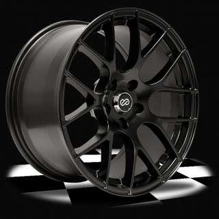 Enkei Raijin Wheel Rim 18X9.5 5X114.3 +15mm Offset 72.6mm Bore BLACK