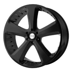 American Racing Vintage Circuit 18x8 Black Wheel / Rim 5x4