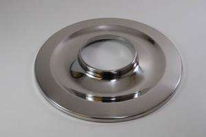 FLAT STAINLESS STEEL AIR CLEANER BASE FORD CHEVY MOPAR