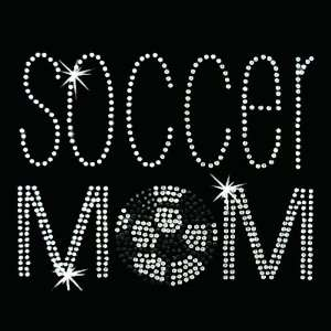 on Hot Fix Rhinestone Motif Design Soccer Mom: Arts, Crafts & Sewing